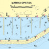 aci marina opatija nautical map