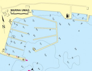 aci marina umag nautical map