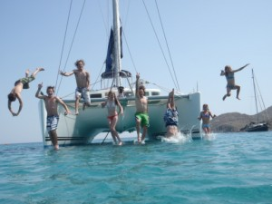 fun on sailing