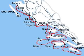 Maritime Islands Map