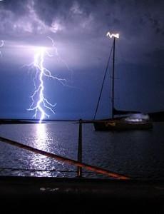 thunder storm sailing