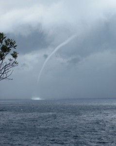 adriatic waterspout